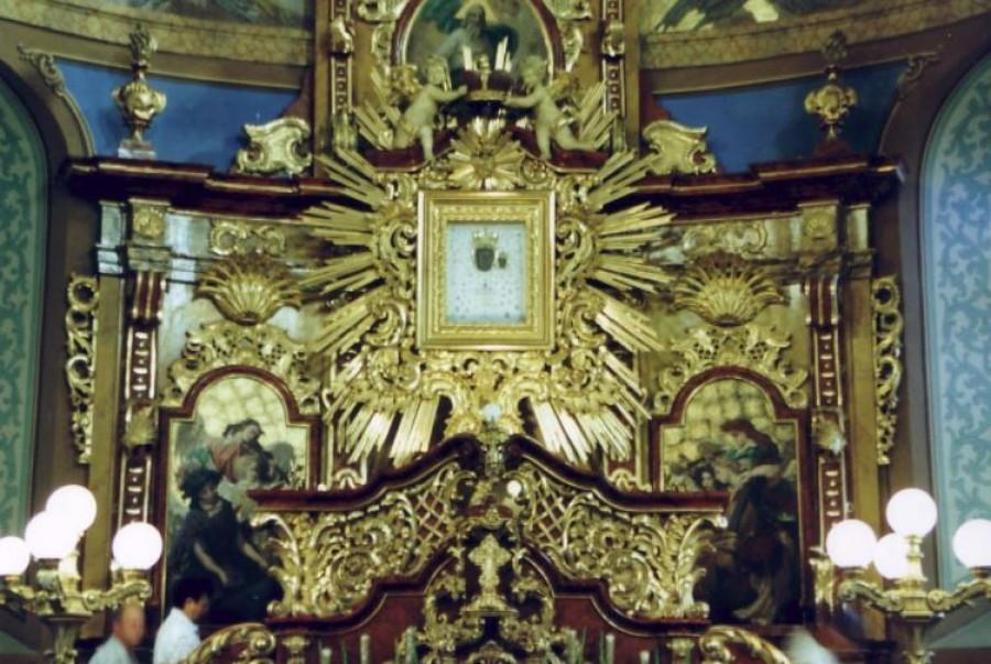 A templom, amelyet Szűz Mária csodás könnyei szenteltek meg